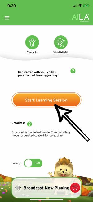 Start Learning Session