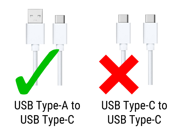 USB Type A to Type C - Charging AILA Sit & Play